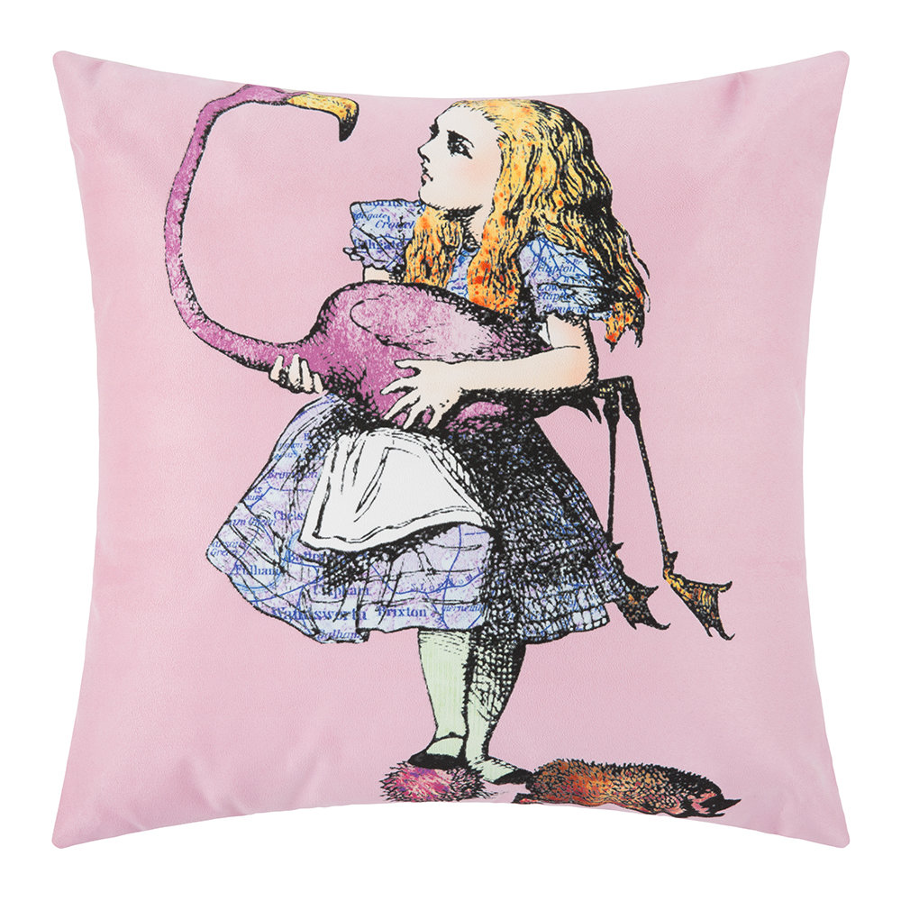 Mrs Moore's Vintage Store - Alice In Wonderland Cushion - Alice