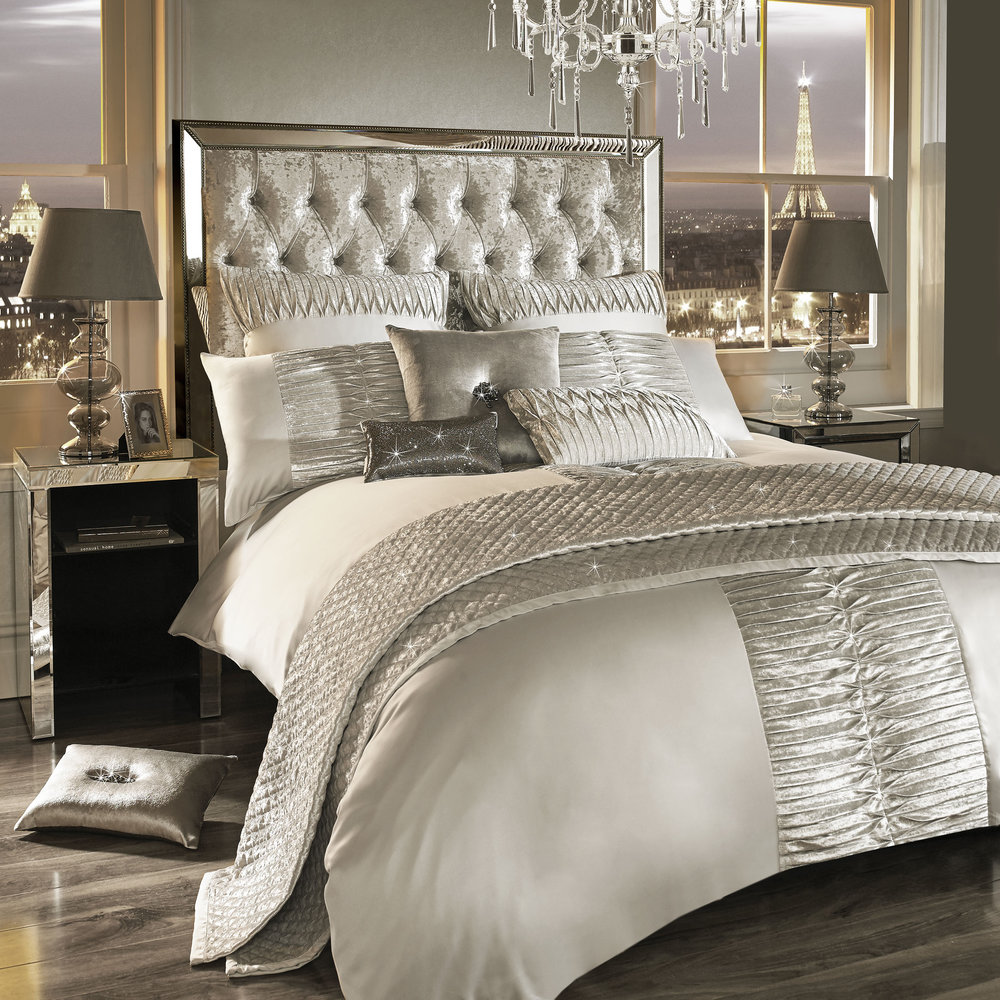 Buy Kylie Minogue At Home Atmosphere Duvet Cover Ivory