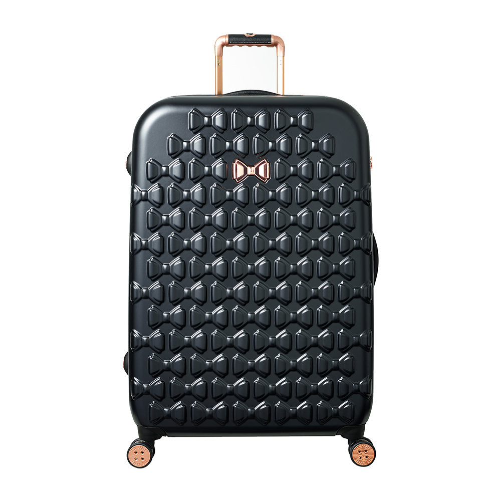 f28c447daf17f7 Buy Ted Baker Moulded Beau Suitcase - Black - Large