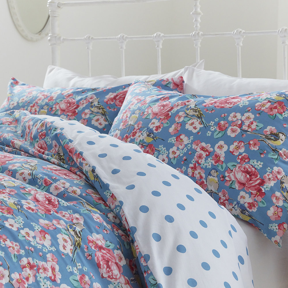 cath kidston meadowfield birds bettw sche set kaufen amara. Black Bedroom Furniture Sets. Home Design Ideas