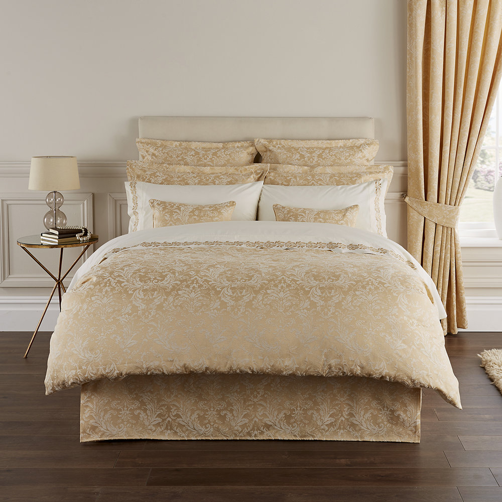 Buy Christy Palermo Duvet Set Rich Gold Double Amara