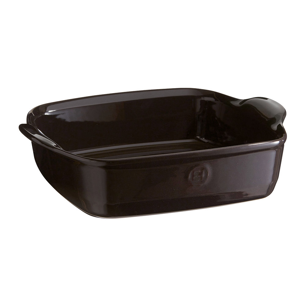 Emile Henry - Ultime Square Baking Dish - Black