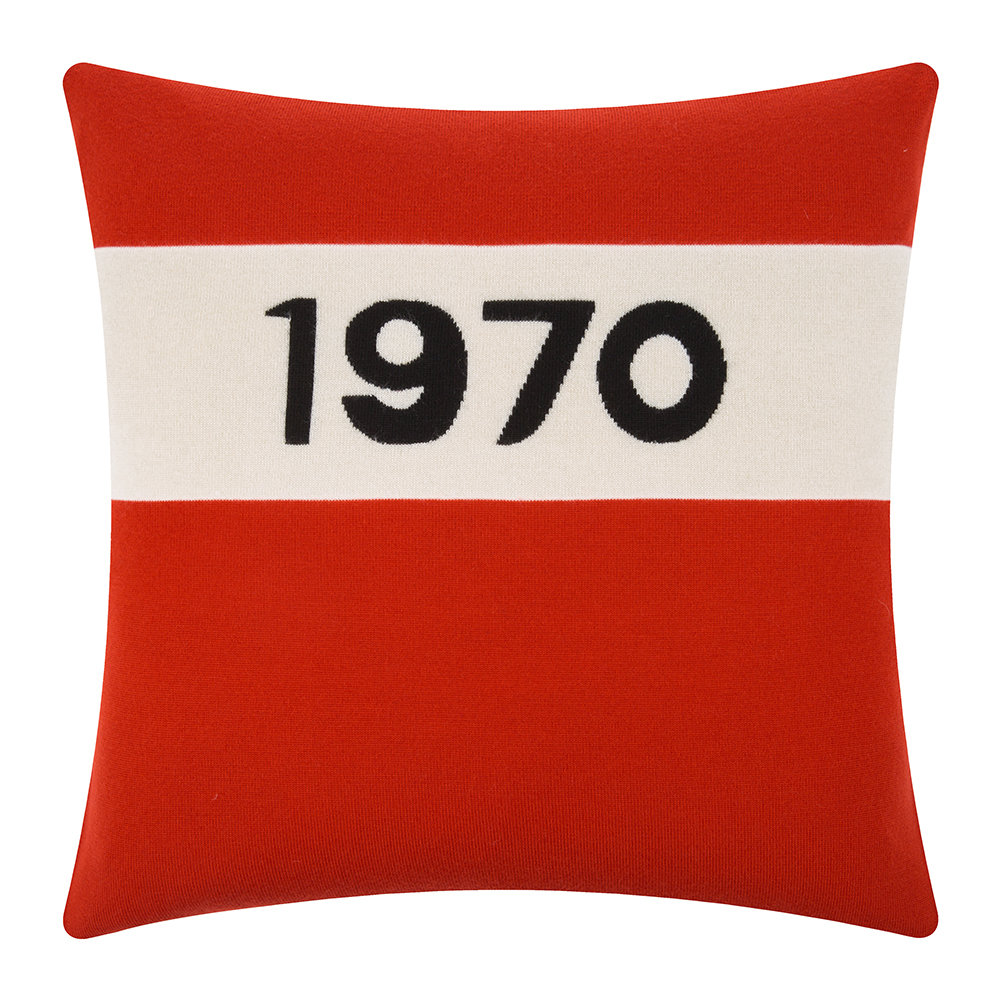 Bella Freud - 1970 Pillow - Red