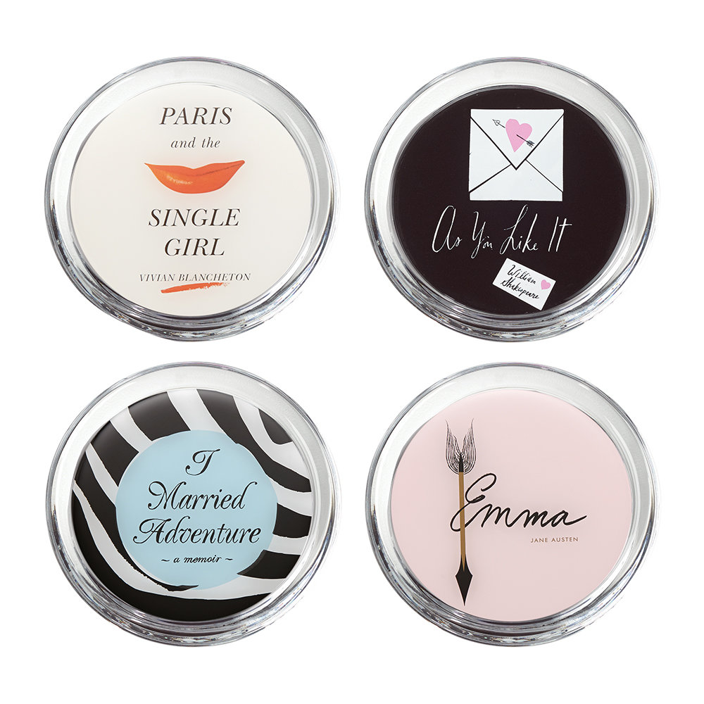 kate spade new york - A Way With Words Coaster - Set of 4
