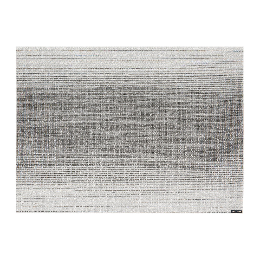 Chilewich - Omber Rectangle Placemat - Silver