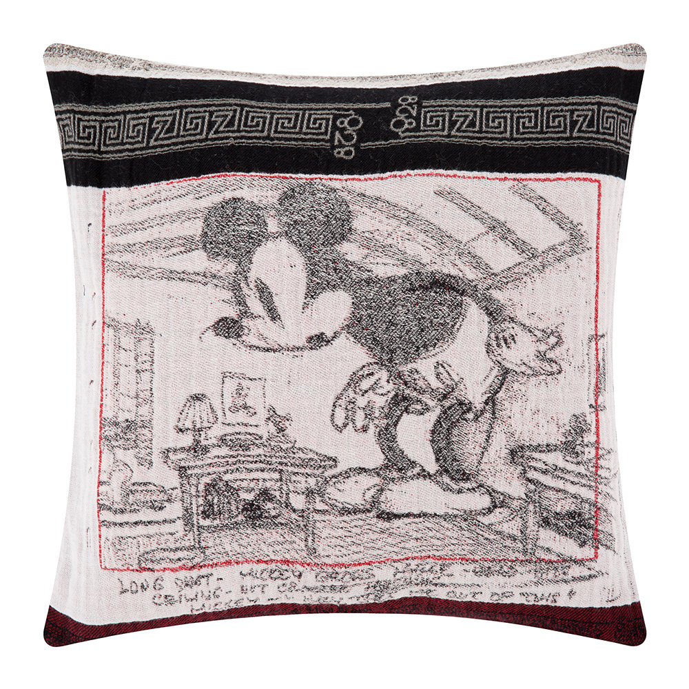 Zoeppritz since 1828  Mickey Mouse Giant Cushion  40x40cm
