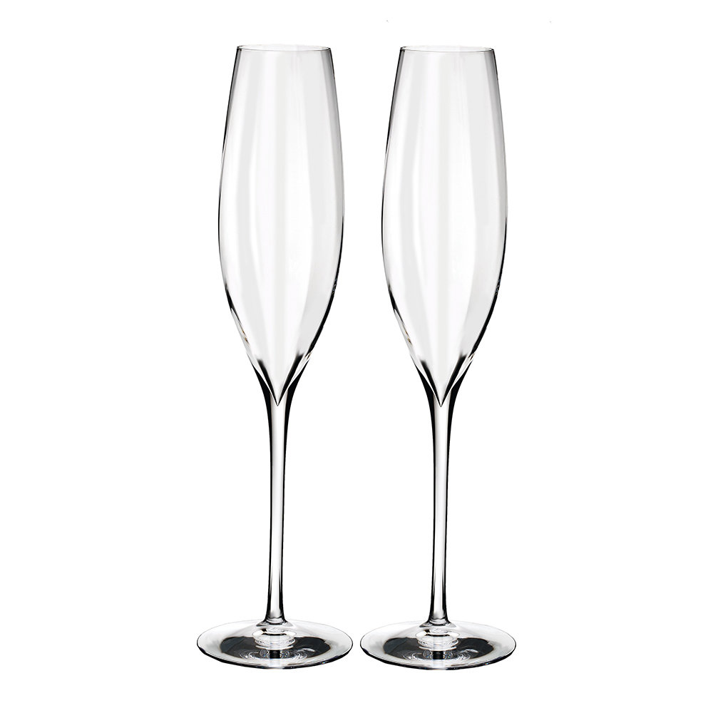 Waterford - Optic Classic Champagne Flutes - Set of 2