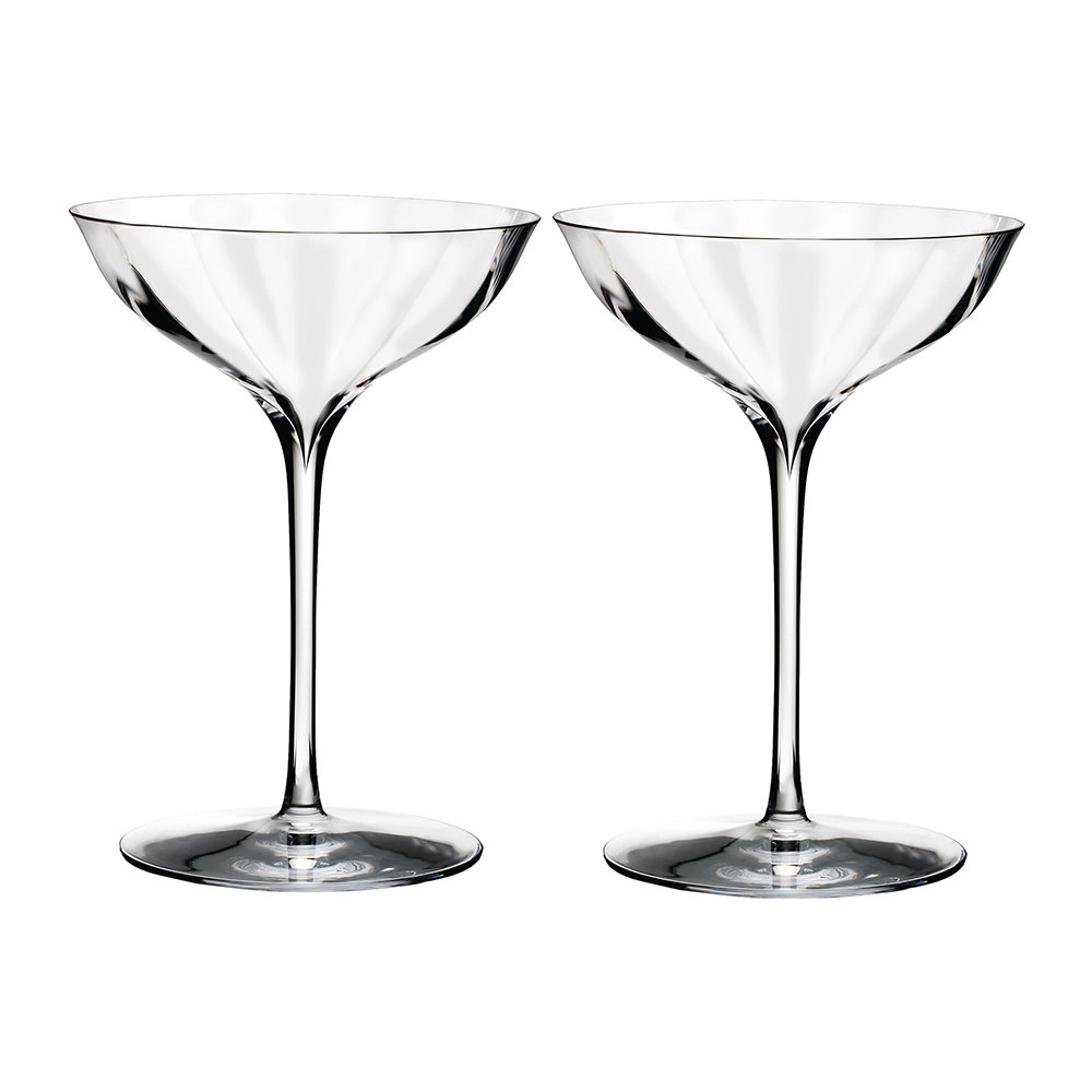acheter waterford verres belle coupe champagne optique lot de 2 amara. Black Bedroom Furniture Sets. Home Design Ideas