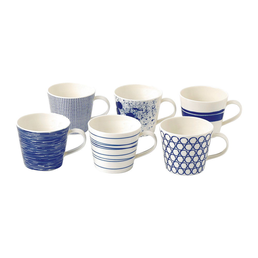 Royal Doulton  Pacific Mugs  Set of 6