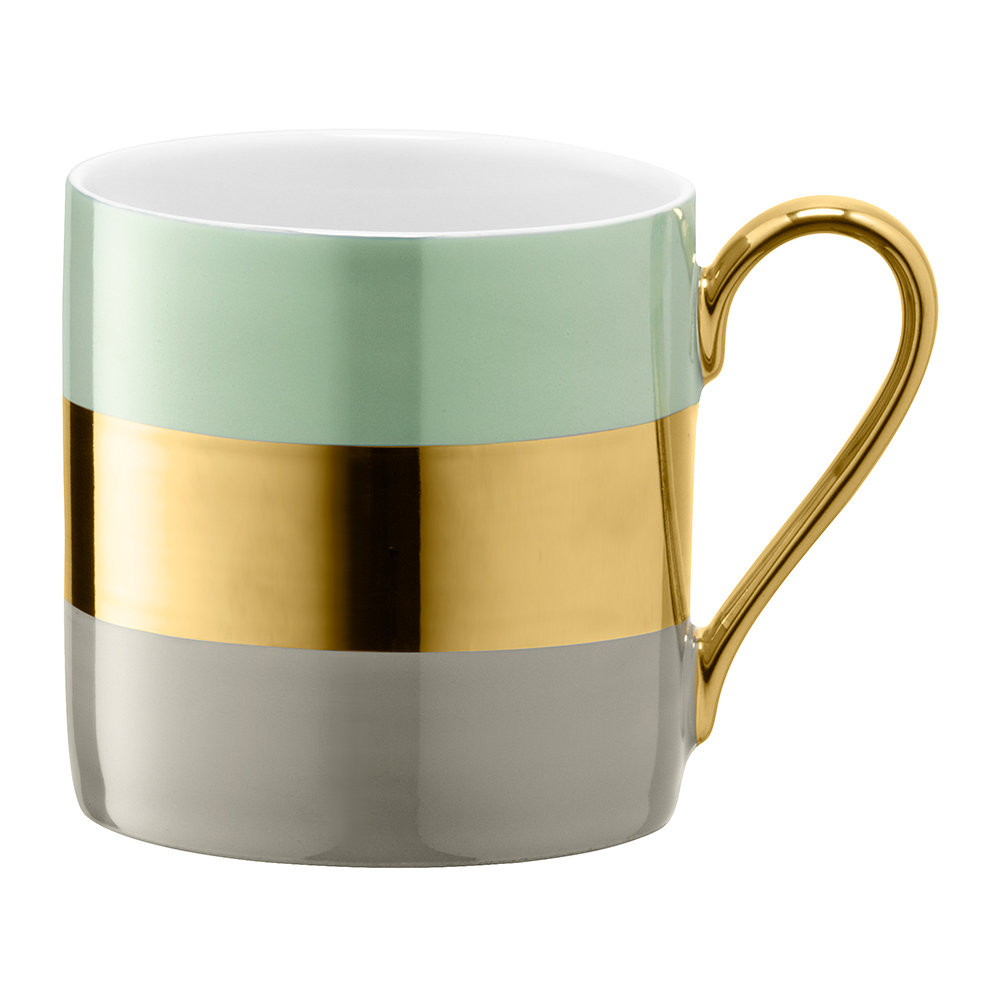 LSA International  Bangle Mug  Melon