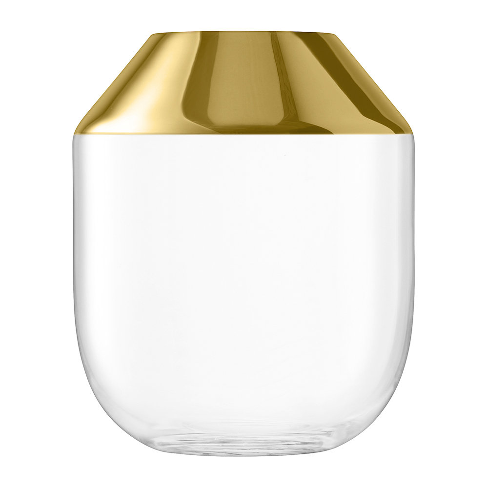 LSA International - Space Vase - Gold - 39cm