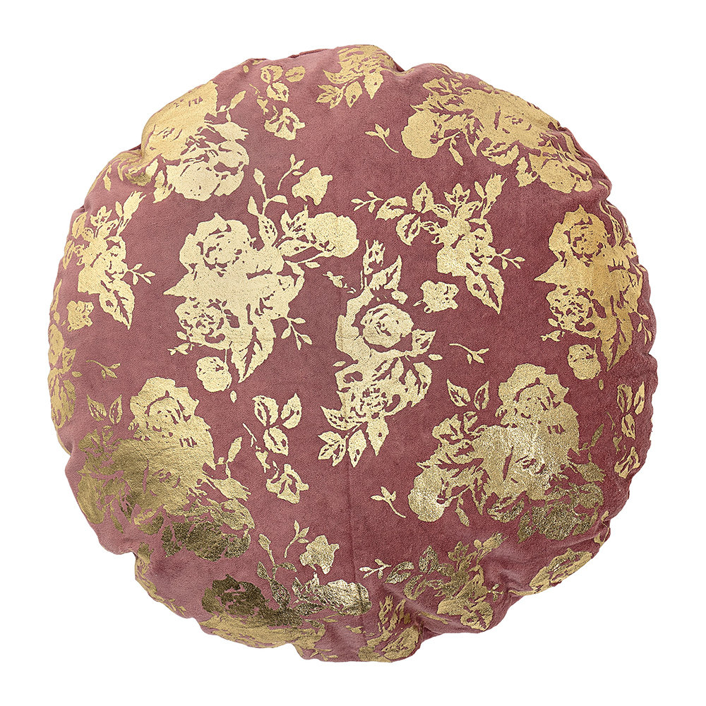 Bloomingville - Circular Rose Cushion