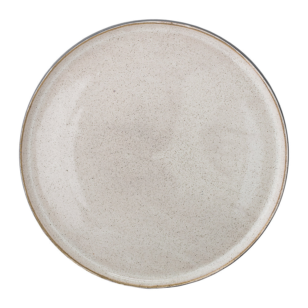 Bloomingville - Stoneware Tray - Natural - 30cm
