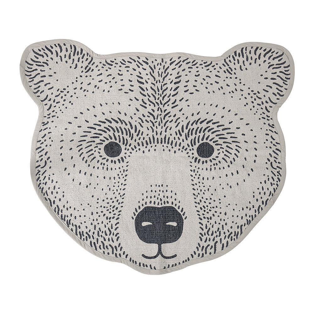 Bloomingville - Bear Rug - Brown