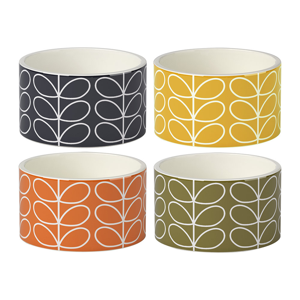 Orla Kiely - Linear Stem Ramekins - Set of 4