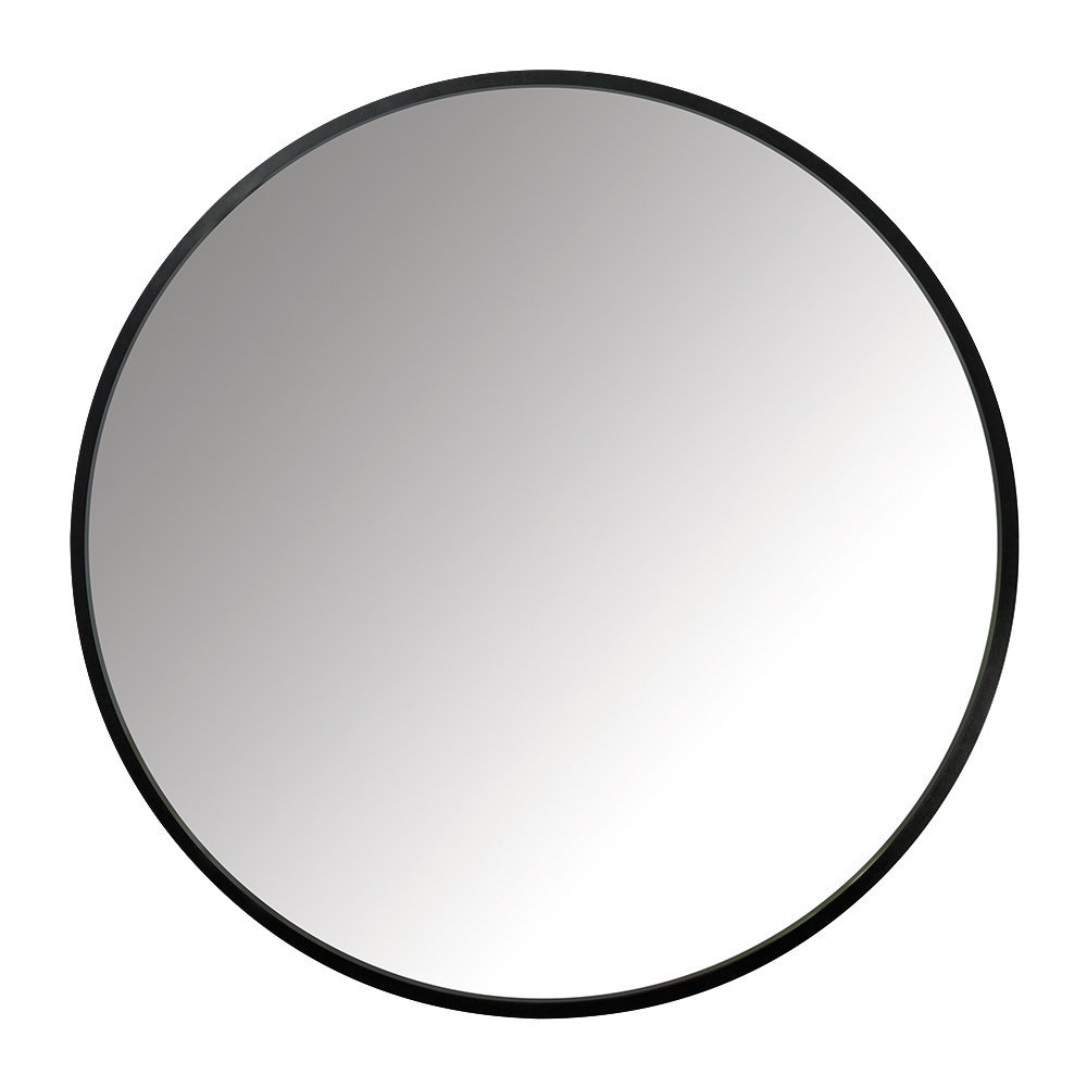 Umbra - Hub Round Mirror - 61cm - Black
