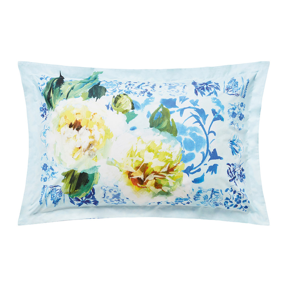 Designers Guild  Majolica Pillowcase  Oxford