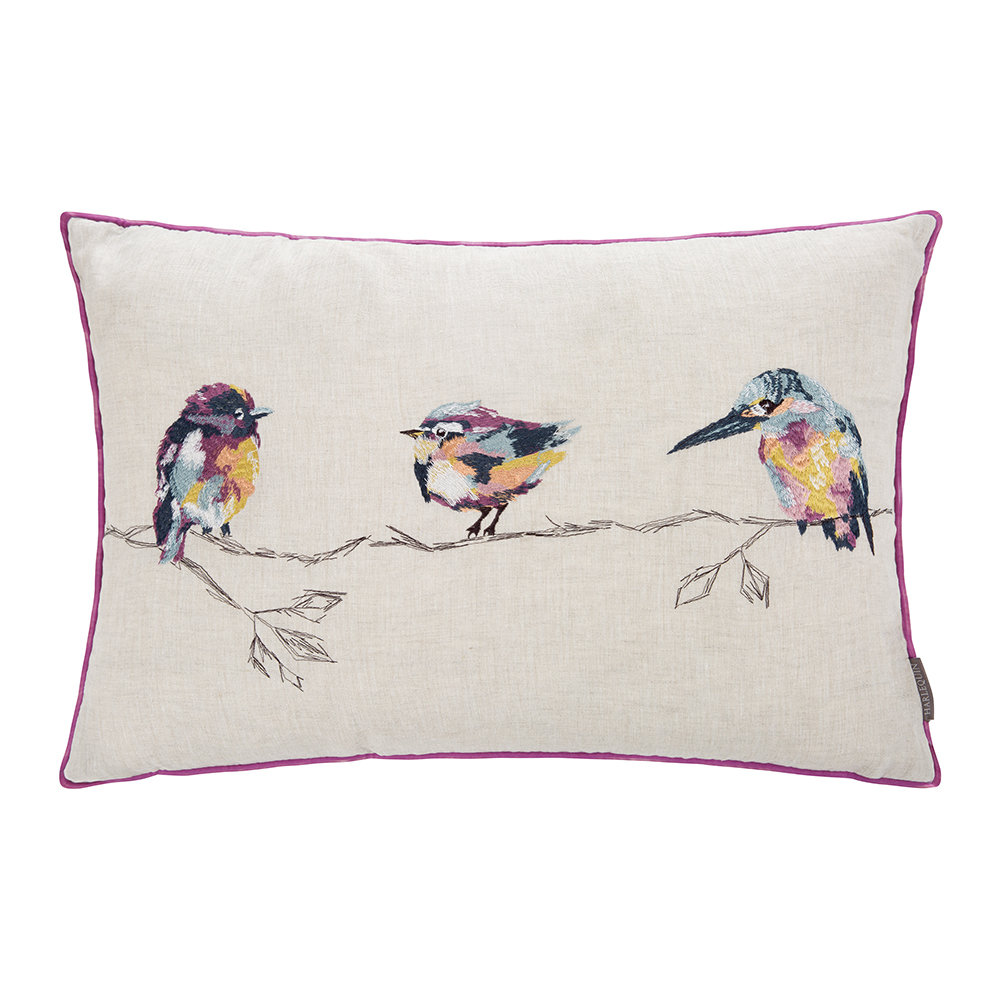 Harlequin  Salice Embroidered Pillow  60x40cm