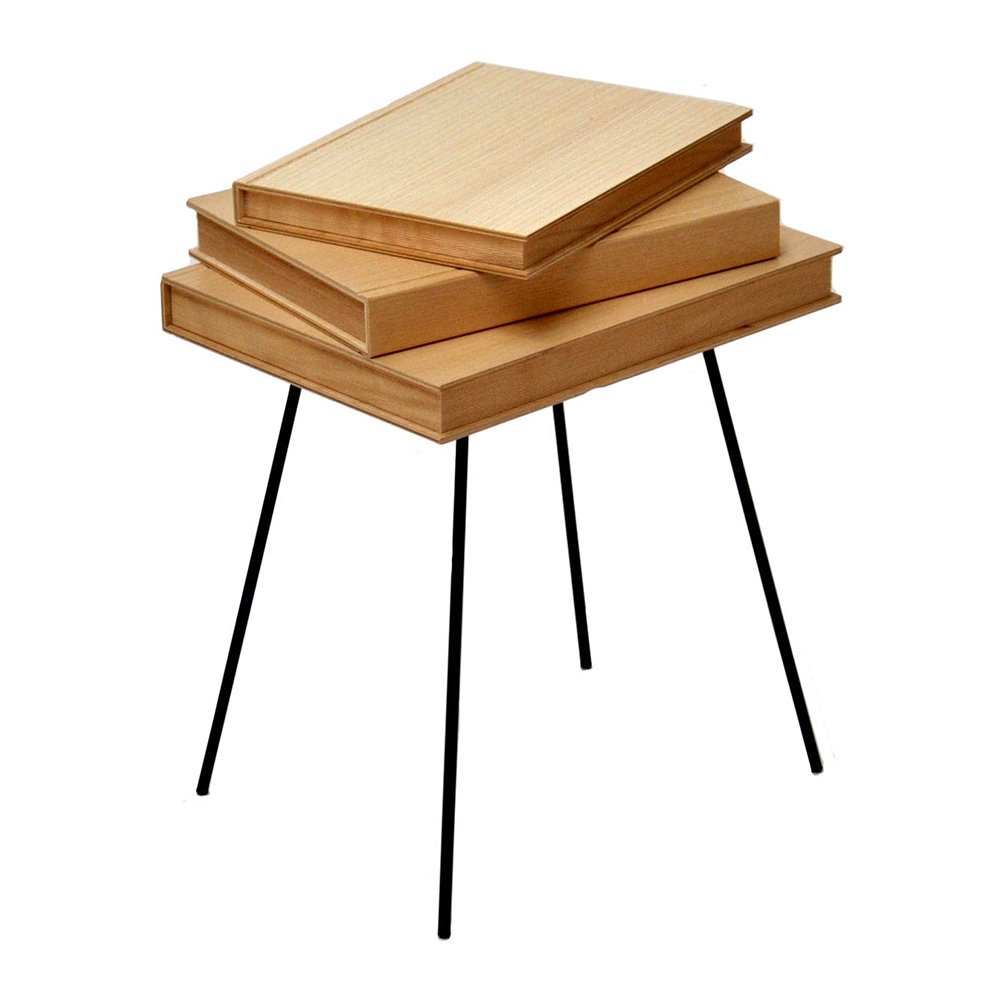 Valsecchi 1918  Fairytale Side Table with Hidden Trinket Tray  Natural