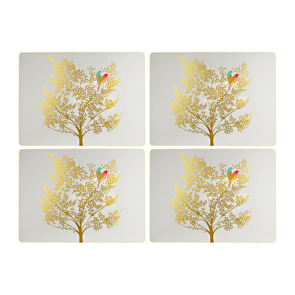 Sara Miller - Chelsea Collection Placemats - Light Grey - Set of 4
