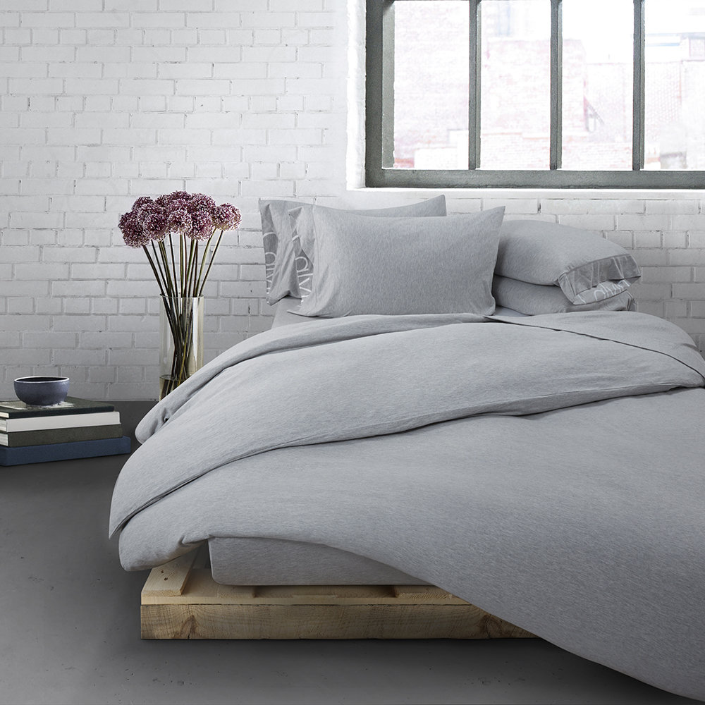 Buy Calvin Klein Modern Cotton Body Duvet Cover - Grey | Amara