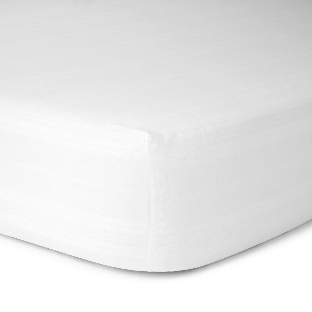 Calvin Klein  Modern Cotton Body Fitted Sheet  White  Single