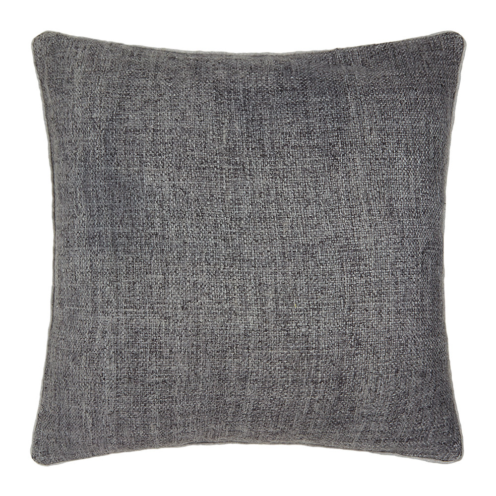 Gingerlily  St Mawes Silk Cushion  50x50cm  Grey