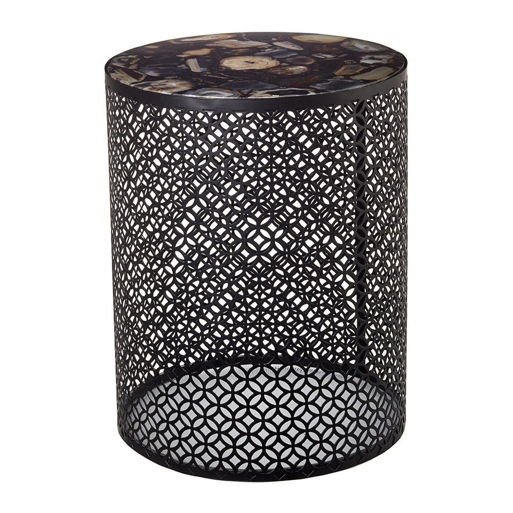 Pols Potten - Semi Precious Stone Side Table - Black