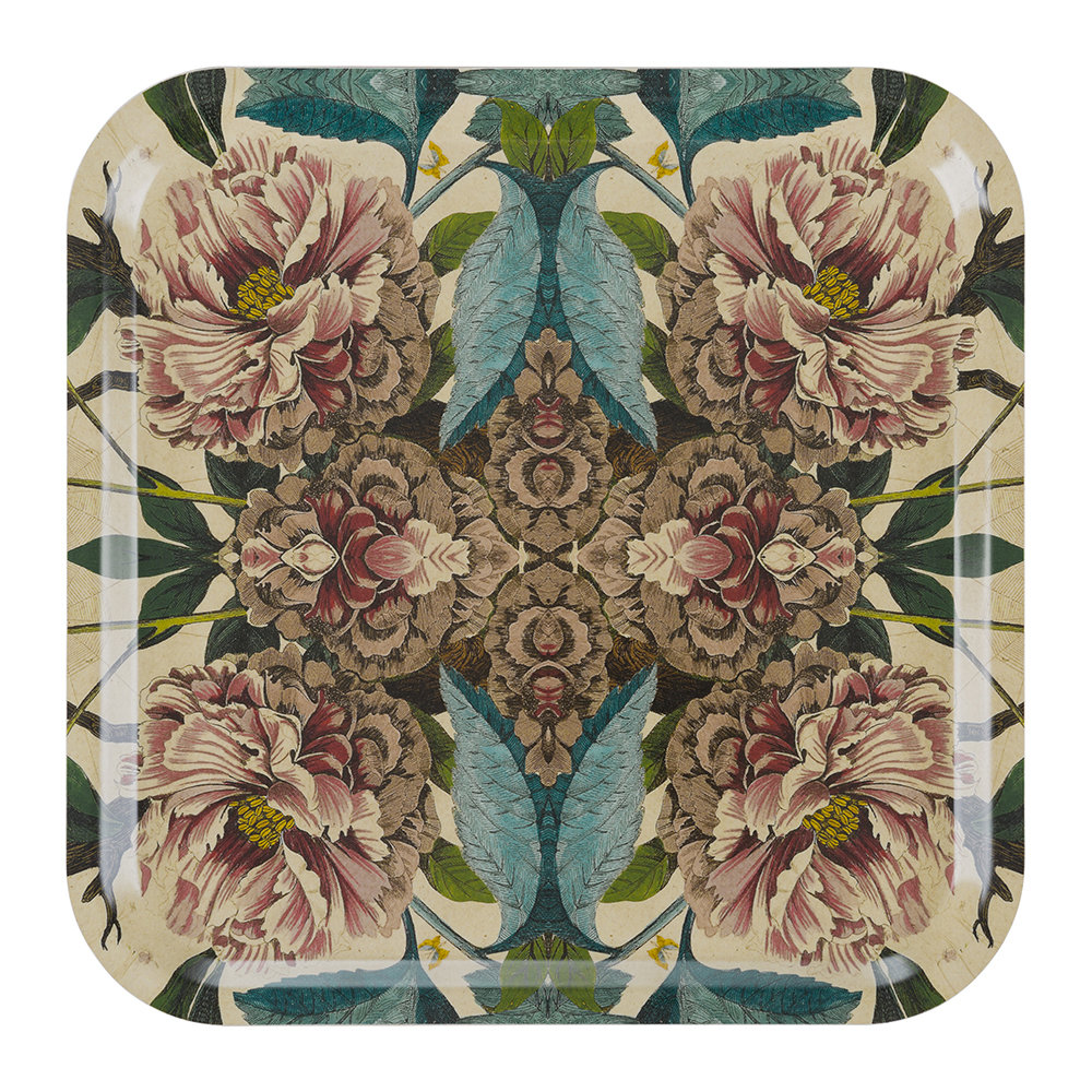 Buy avenida home patch nyc floral tray square peonies for Amara homes