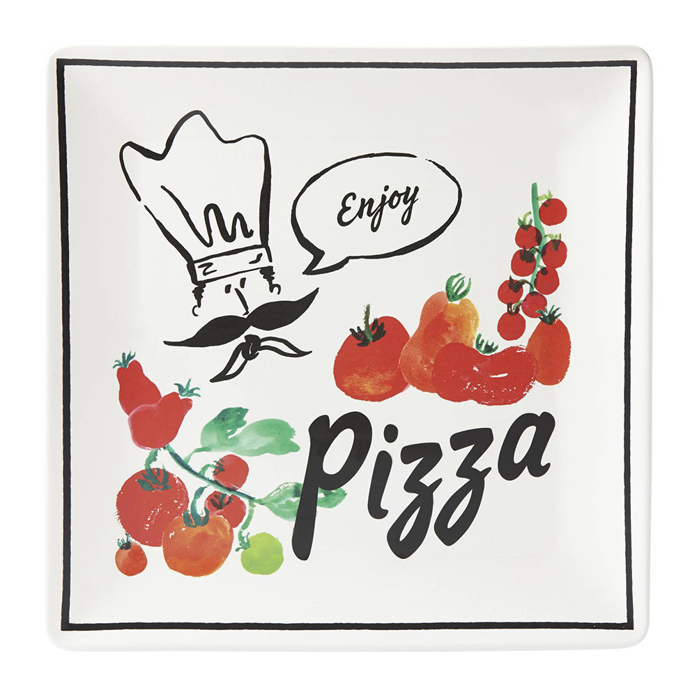 kate spade new york - Any Way You Slice It Pizza Tray - Square