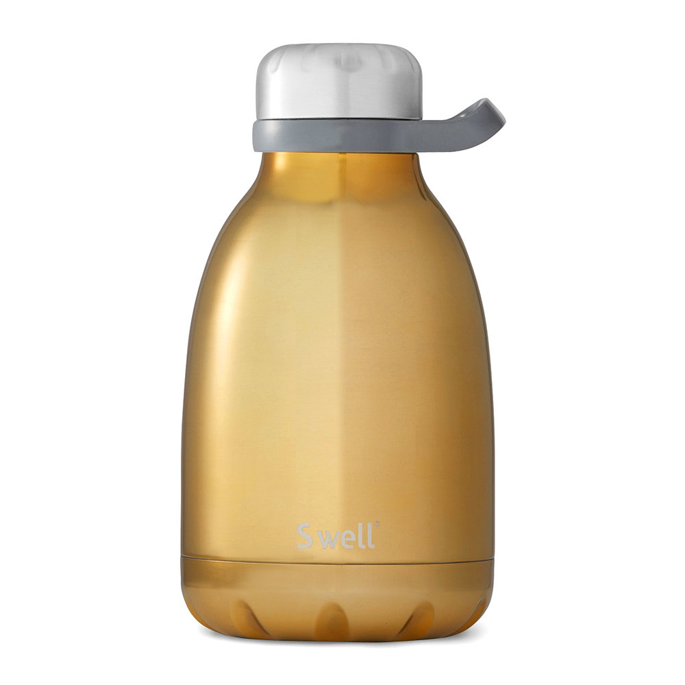 S'well - Roamer Bottle - Yellow Gold - 1.14L