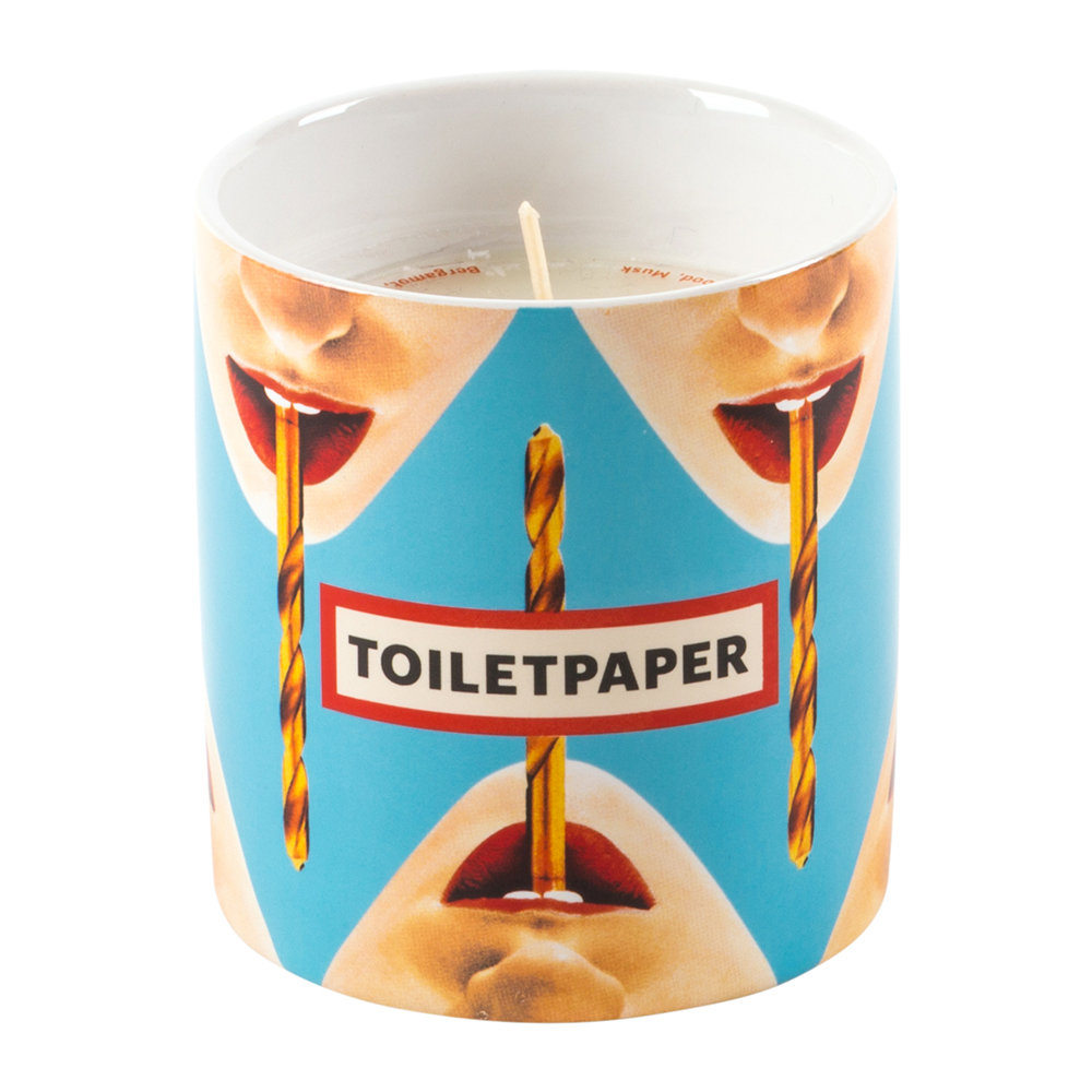 Seletti wears Toiletpaper - Porcelain Encased Candle - Drill