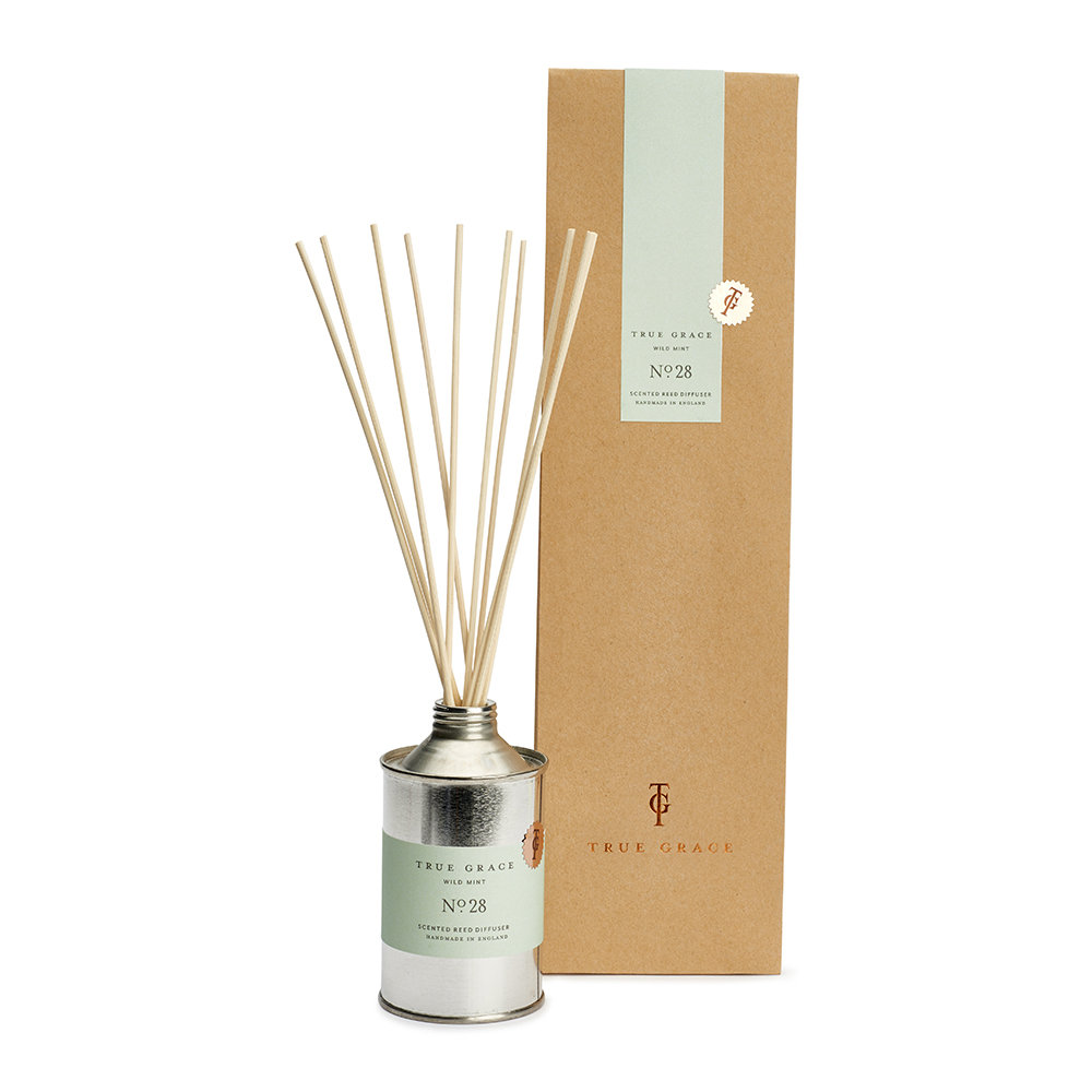 Product Reed Diffuser ~ Buy true grace walled garden reed diffuser in a tin amara