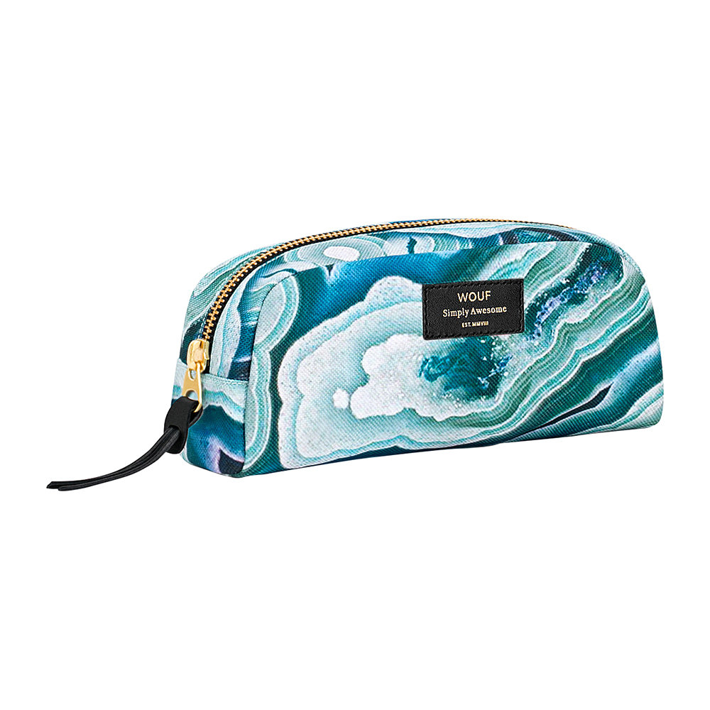 Wouf - Blue Mineral Cosmetic Bag - Small