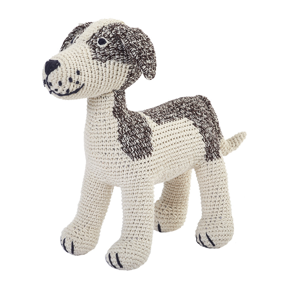 Anne-Claire Petit - Crochet Jack Russell - Choco