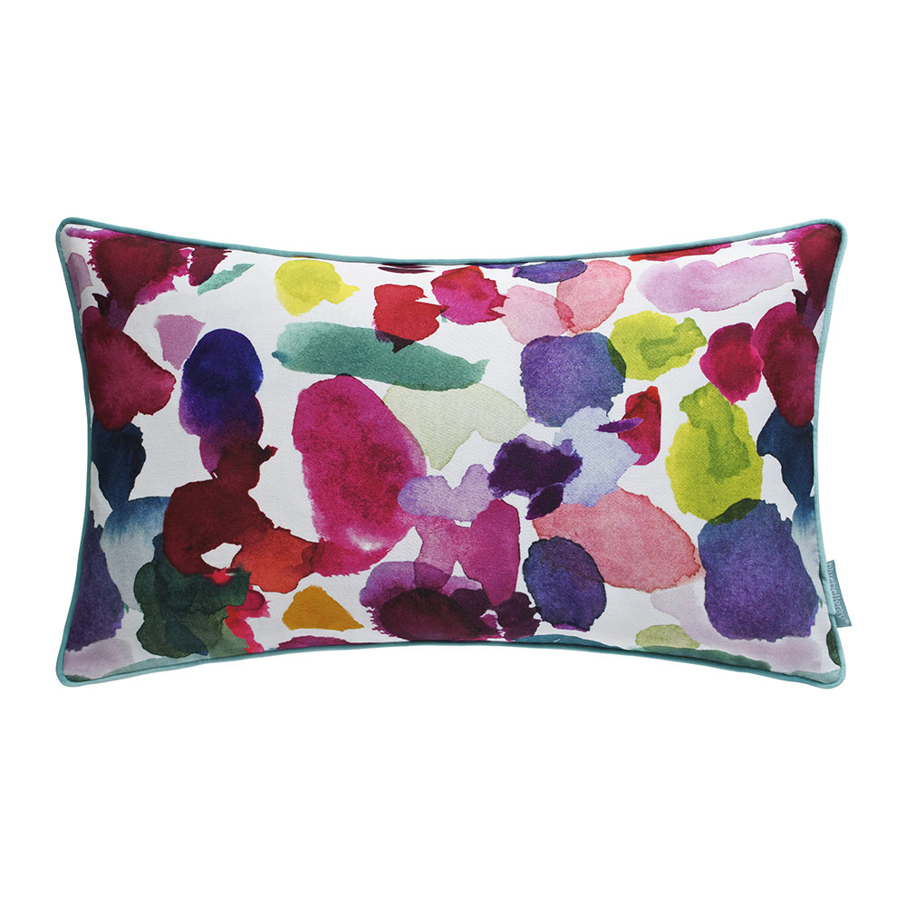 Bluebellgray - Abstract Cushion - 30x50cm