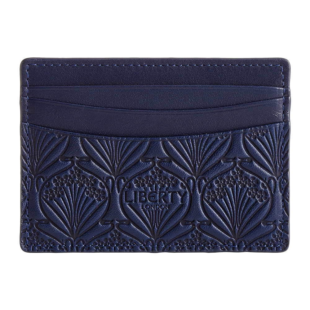 Liberty London Liberty London – Embossed Card Holder – Navy