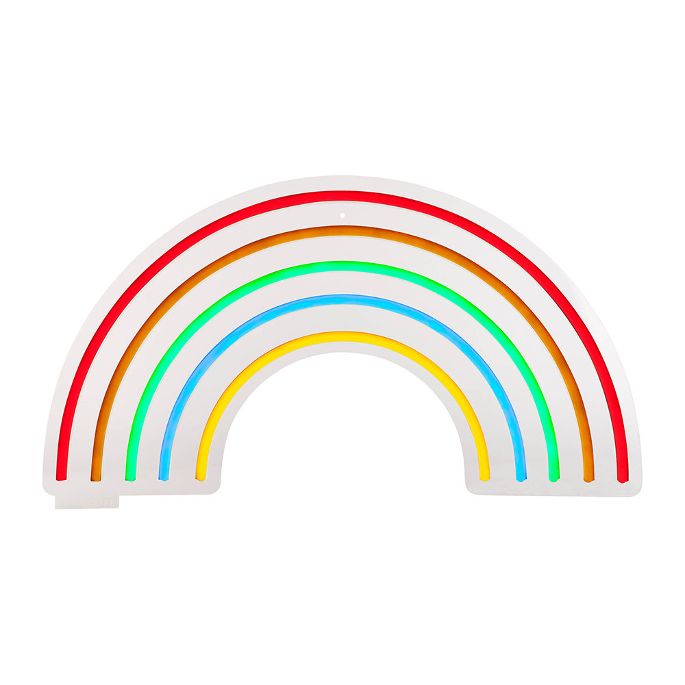 Led Lights Rainbow: Buy Sunnylife Neon LED Wall Light - Rainbow - Small
