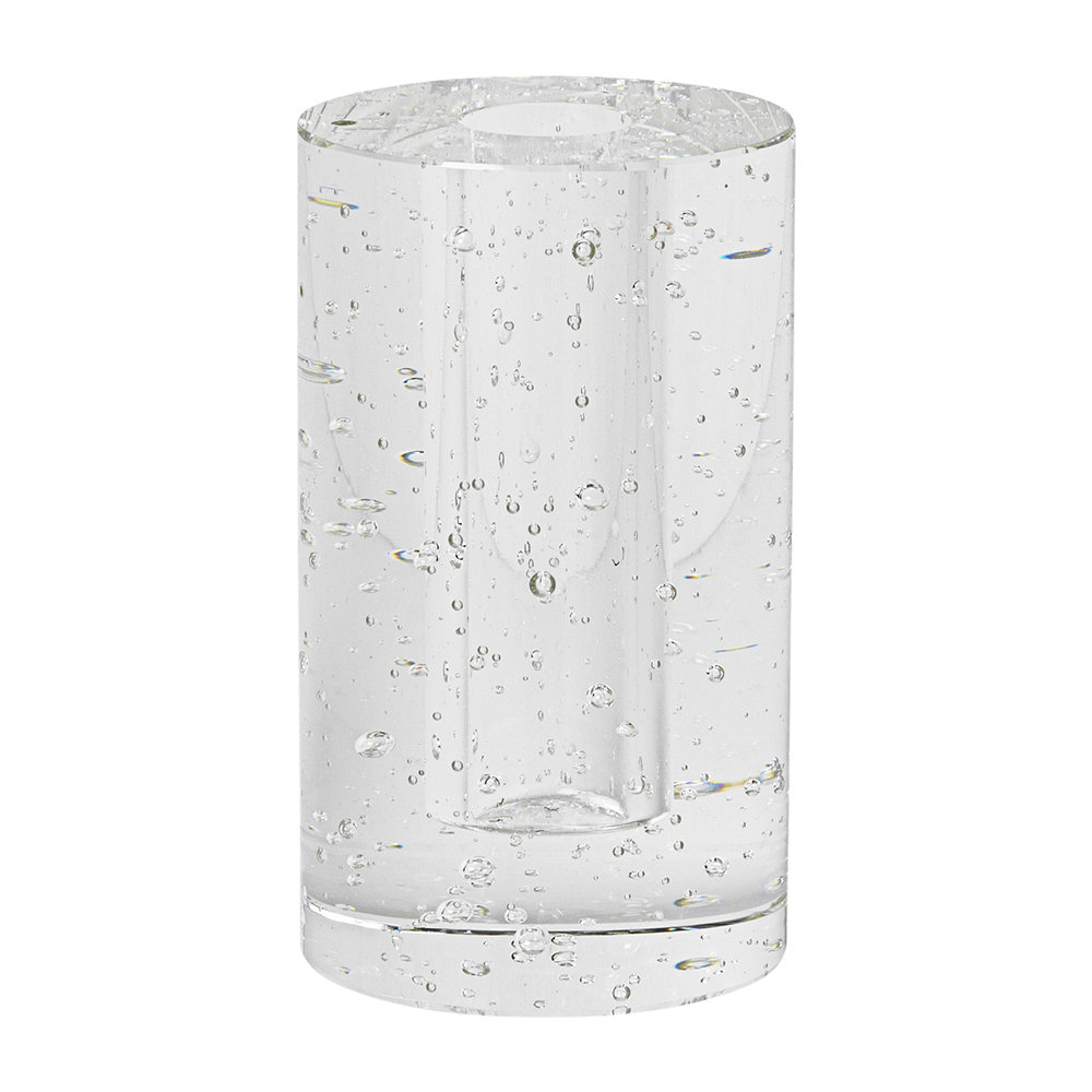 Ferm Living - Bubble Glass Object - Clear - Cylinder