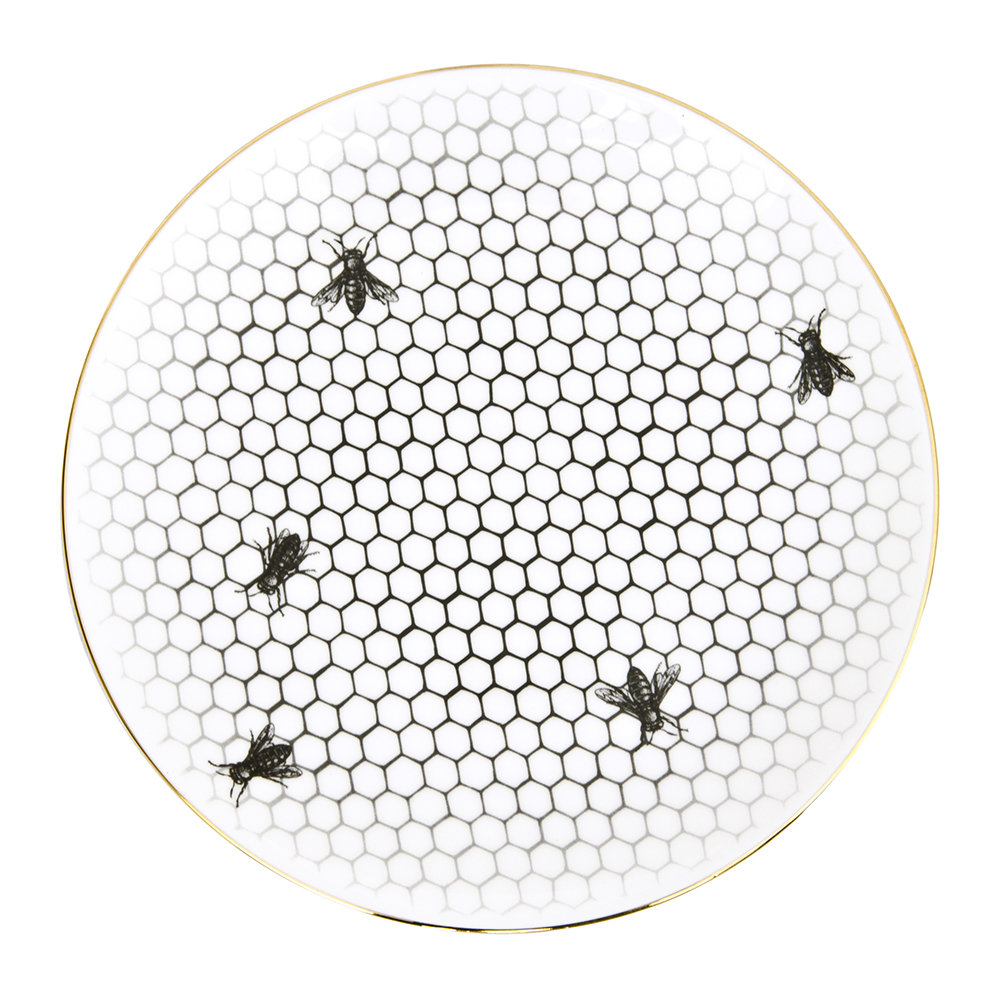 Rory Dobner - Perfect Plates - Bees All Over - Small