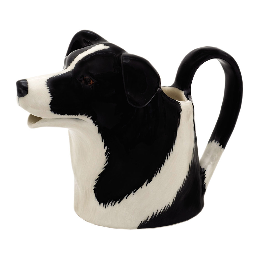 Quail Ceramics - Border Collie Jug - Large