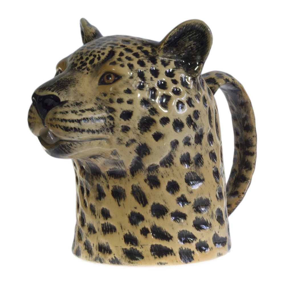 Quail Ceramics - Ceramic Leopard Jug - Small
