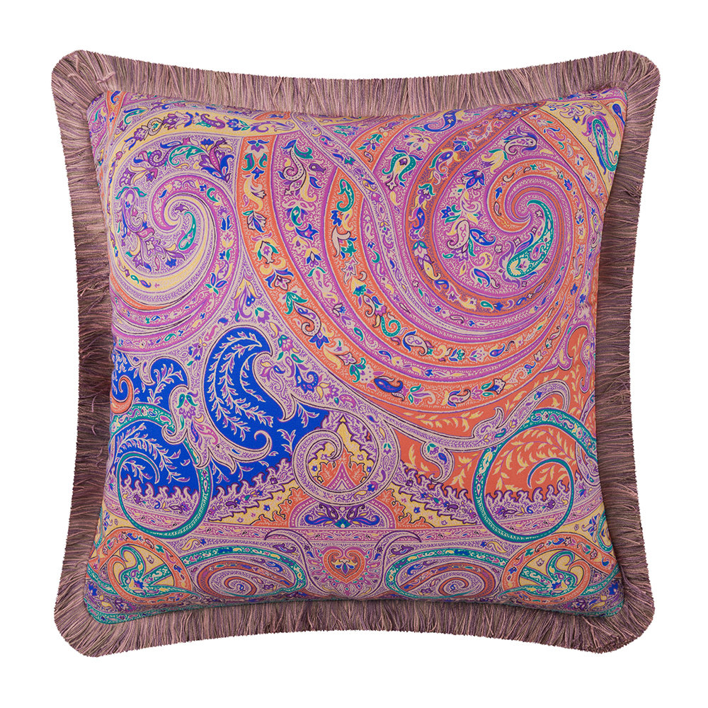 Etro  Holloway Tassel Edged Pillow  45x45cm  Multicolored