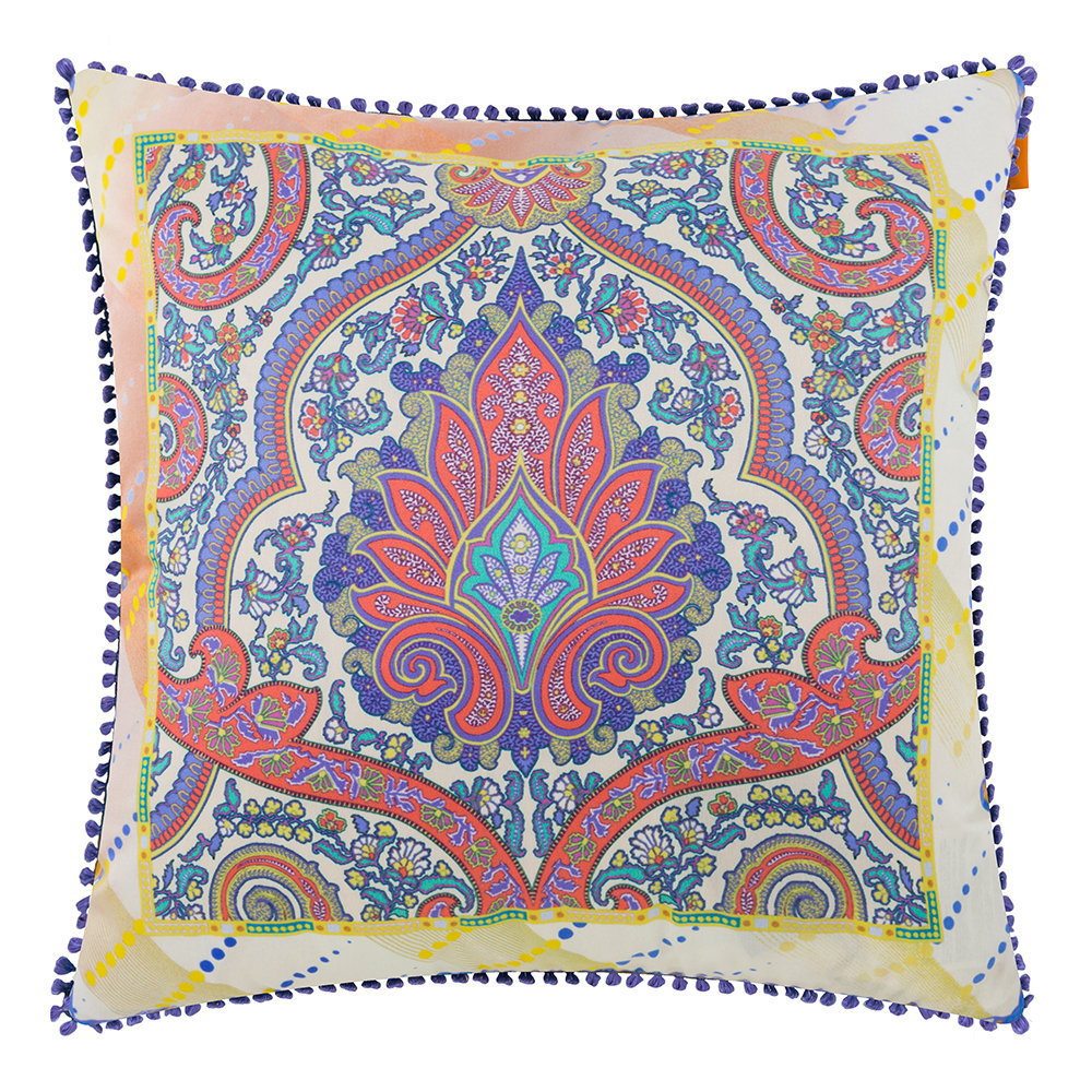Etro  Maddalena Multicolored Pillow  45x45cm  Design 2