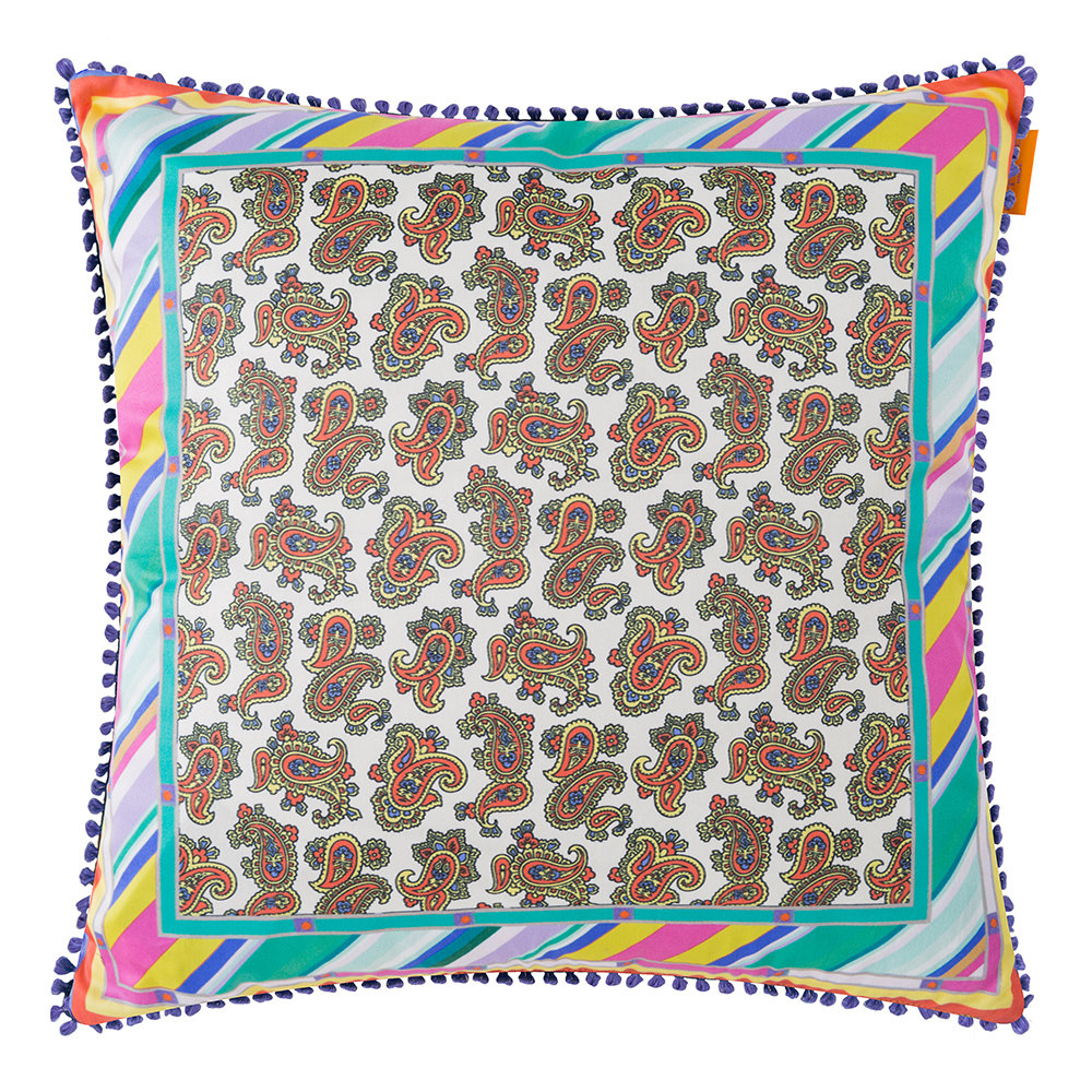 Etro  Maddalena Multicolored Pillow  45x45cm  Design 4
