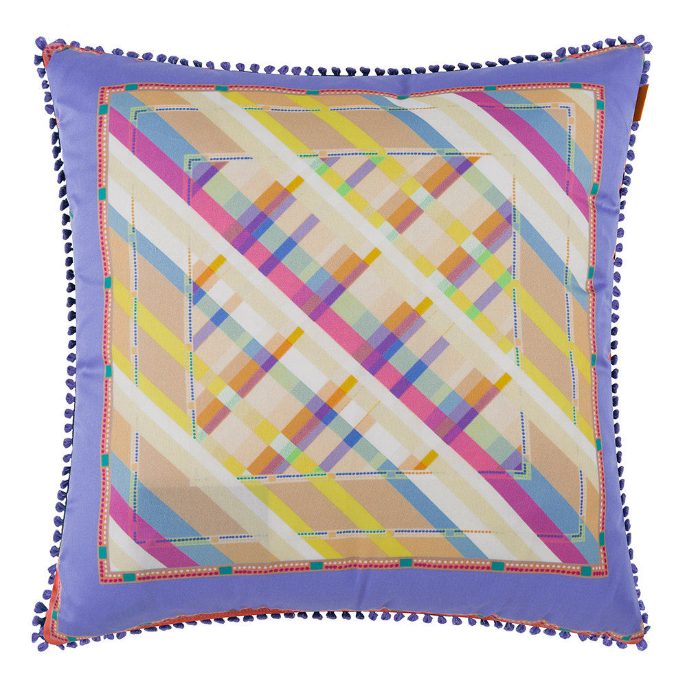 Etro  Maddalena Multicolored Pillow  45x45cm  Design 5