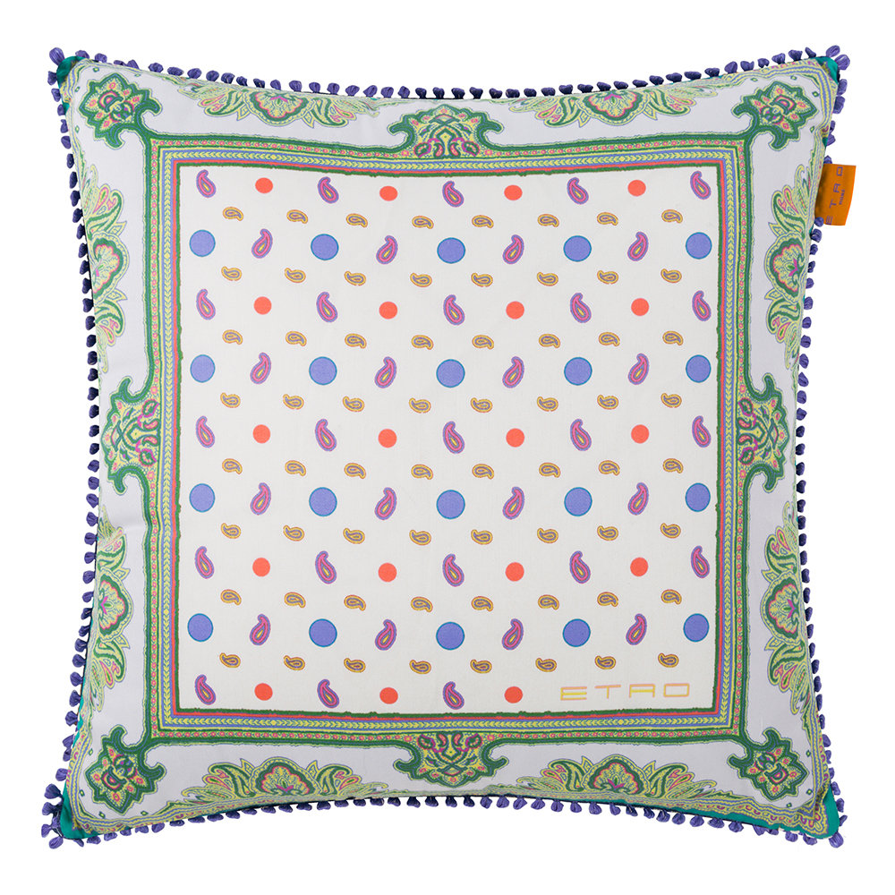 Etro  Maddalena Multicolored Pillow  45x45cm  Design 6