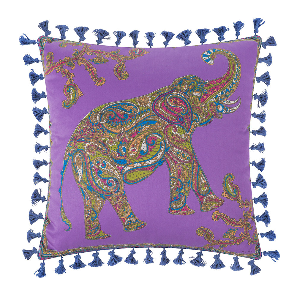Etro  Mowgli Tassel Edged Animal Pillow  45x45cm  Design 1