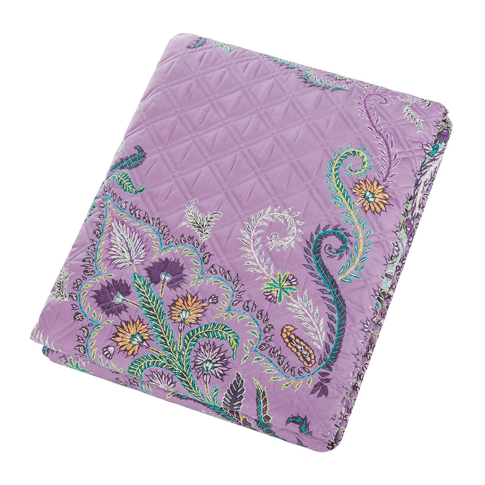 Etro - Carrie Quilted Bedspread - Fuchsia