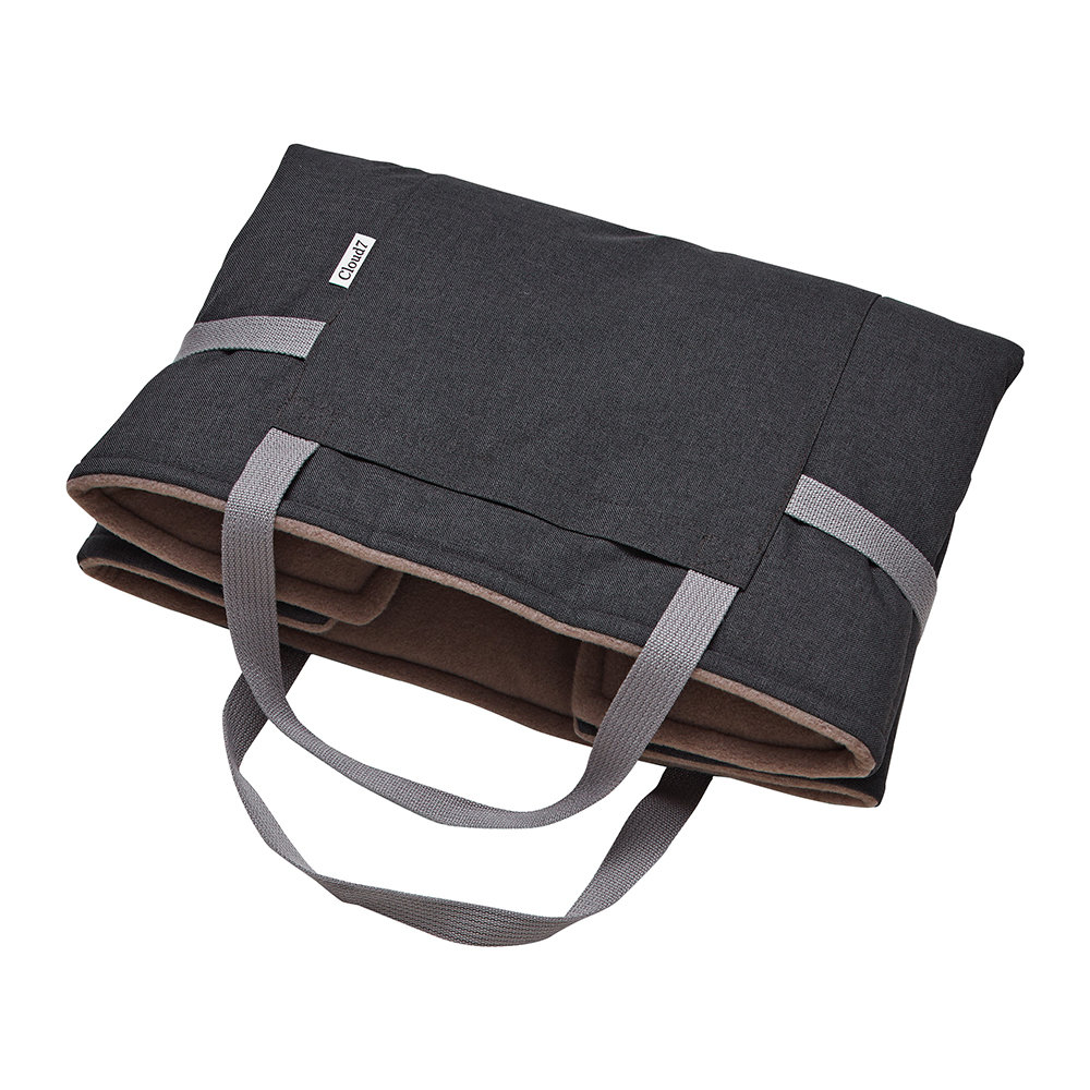 Cloud 7 - Waterproof Foldable Travel Dog Bed - Graphite - Large